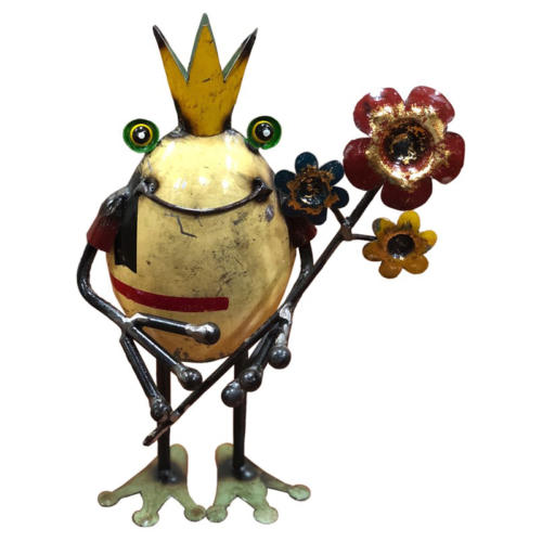 Frog King with Flowers ($35.99)