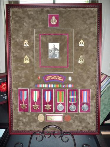 Military Medals Framed & Preserved