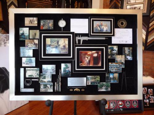 Lauer Machine Manufacturing Framed Memorabilia