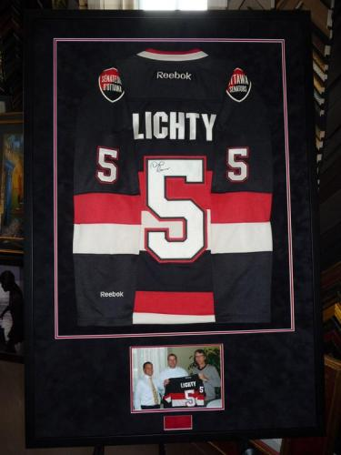 Hockey Jersey Framed