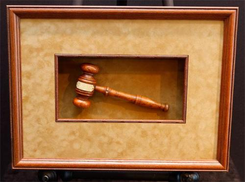 Framed Gavel- King William's Tree